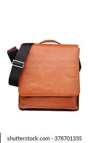 Brown Leather Shoulder bag for Men , Messenger style Accessories