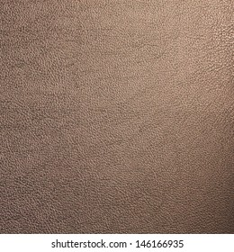 Brown Leather Texture Made From Deer Skin