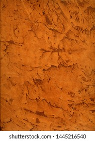 Brown leather texture (real old leather surface stained and striped)