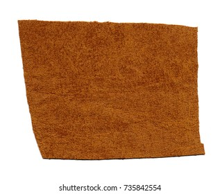 brown leatherette sample useful as a background