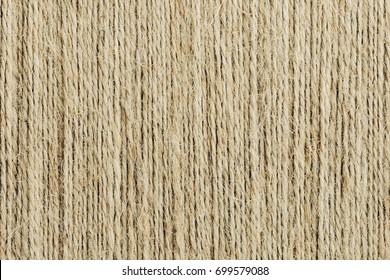 Brown linen rope texture.