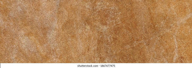Brown marble texture with high resolution, Exotic agate honed surface of exterior, Orange emperador breccia marbel, Rustic finish quartzite limestone, Polished terracotta quartz slice mineral.