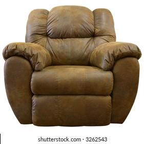 Brown Micro Suede Rocker Recliner Chair