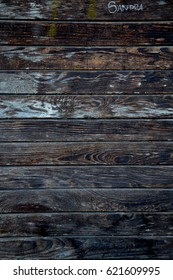 Brown old board