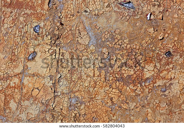 brown old painted texture cracked paint background