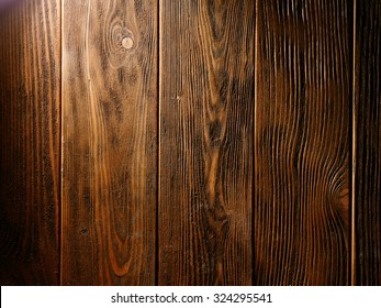 the brown old wood texture with knot. background