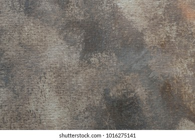 brown painted on paper aristic watercolor texture background