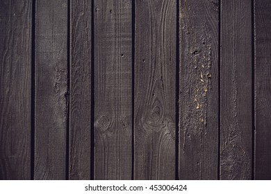 brown painted wood panels texture background, Vintage filtered style