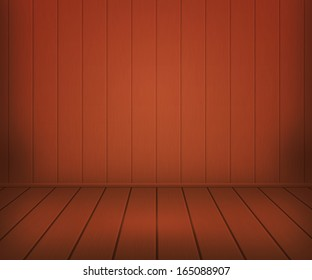 Brown Panels Room Background