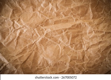 brown paper background with crumpled effect
