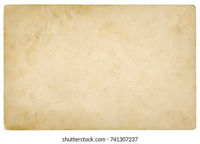Brown paper background isolated - (clipping path included)