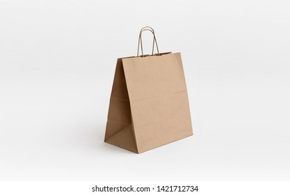 brown paper bag for take away
