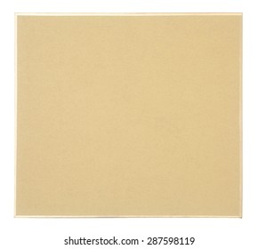 Brown paper frame