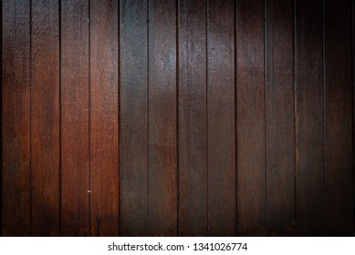 Brown plank wood surface texture background