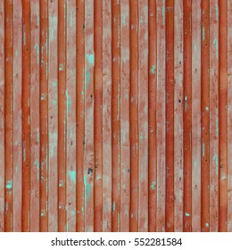 Brown red cargo ship container texture. Seamless pattern. Flaking paint texture of the old container. Repeating grunge background