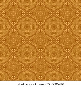 brown retro style abstract pattern design