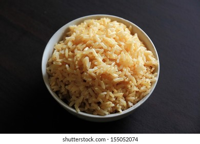 Brown Rice in the Bowl.