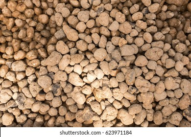 brown river pebbles background