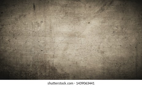 Brown rustic background texture with dark corners and soiled structures.