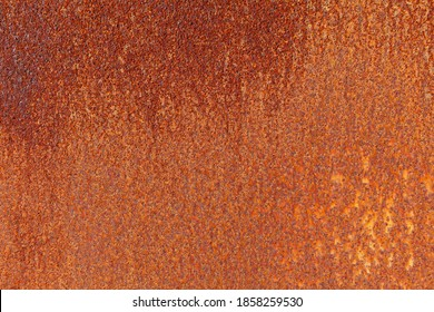 Brown rusty iron fence plate texture and seamless background