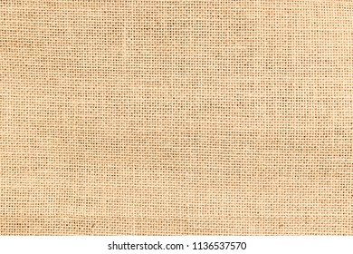 Brown sackcloth or burlap texture background.