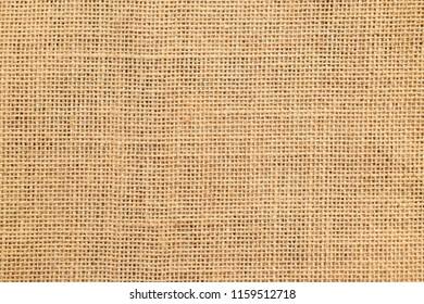 Brown sackcloth or burlap texture background.