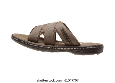 84850902386b6 Sandals Thongs Pile Isolated White Background Stock Photo (Edit Now ...