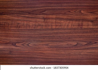 Brown sapele table for background