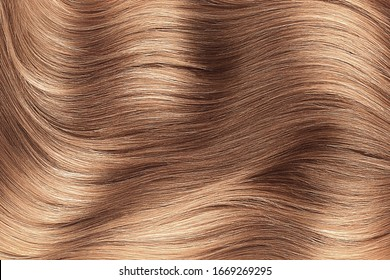 Brown shiny hair abstract background texture