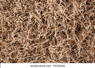 Brown Shredded Paper for Gifting, Shipping and Stuffing