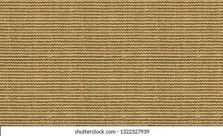 Brown sisal carpet texture background. Hand woven rug.
