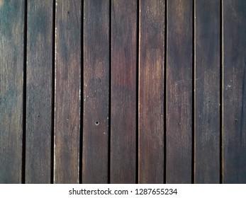 Brown slat background