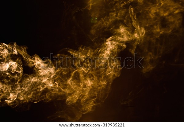 Brown smoke abstract background.