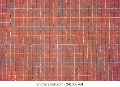 BROWN SQUARE TILING TEXTURE