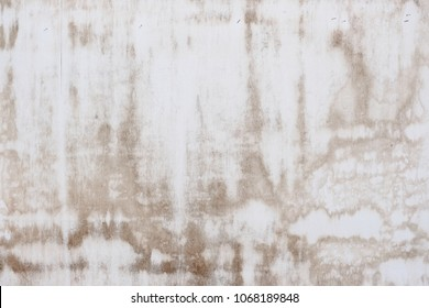 Brown stain on white wall for copy space design.