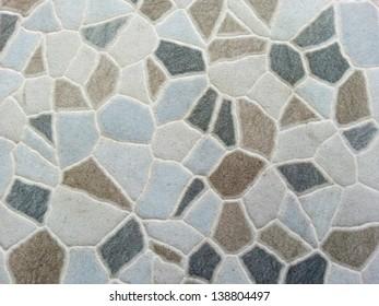 brown stone tile
