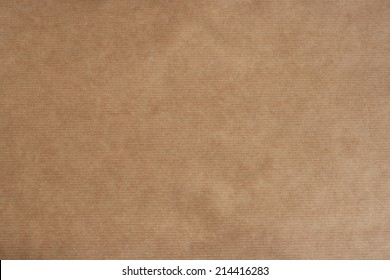 brown striped kraft paper texture or background