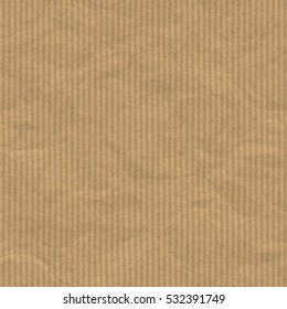 Brown stripped packing paper background or texture