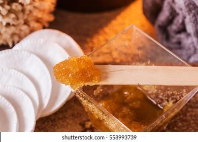 brown sugar and olive oil  body scrub