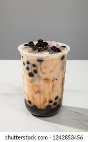 Brown sugar pearl milk tea
