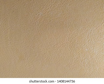 Brown synthetic leather with smooth lines