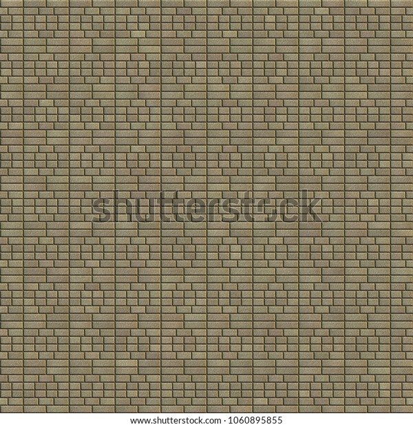 Brown texture of decorative brick.