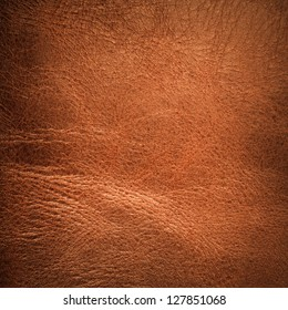 Brown textured  leather background