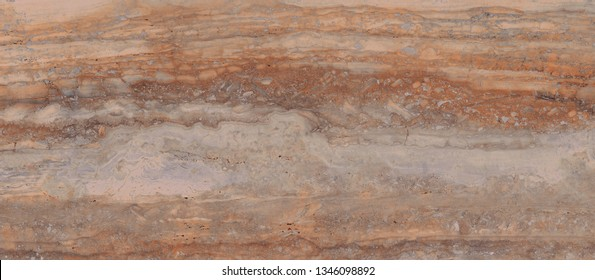brown travertine marble texture background for ceramic surface tile