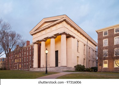 Brown University Ivy League College Campus located in Providence, Rhode Island