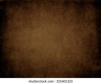 Brown vintage background. Old paper background