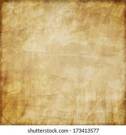 Brown Vintage Coffee Stained Textured Background