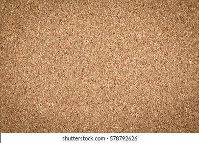 Brown vintage cork board texture background. Empty bulletin Board