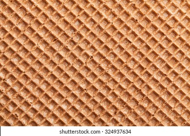 brown waffle texture pattern