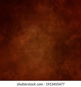 Brown wall background, grunge vintage texture